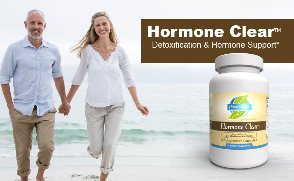 Hormone Clear, Detoxification, Hormone Support, DIM, Priority One Vitamins