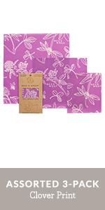Bee's Wrap, reusable food storage, plastic free food wrap, plastic free, beeswax, organic food wraps