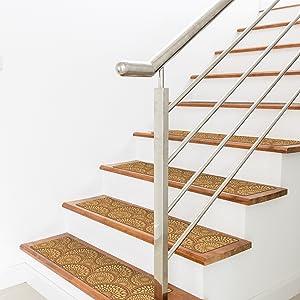 non slip step treads rubber stair tread rubber stair tread step mat stair pads non slip stair