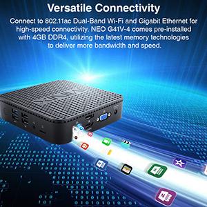Versatile connectivity