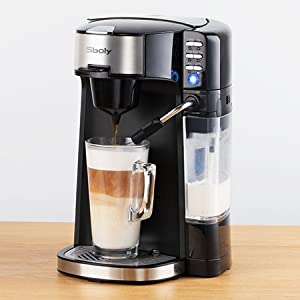 single serve coffee maker k cup coffee maker with frother single cup coffee maker k cup compatible