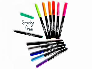 Smudge-Free Tackie Markers