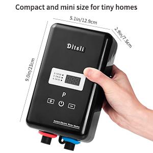 mini electric water heater camping RV