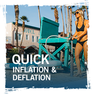 quick inflation and deflation