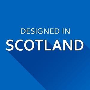 Designed in Scotland