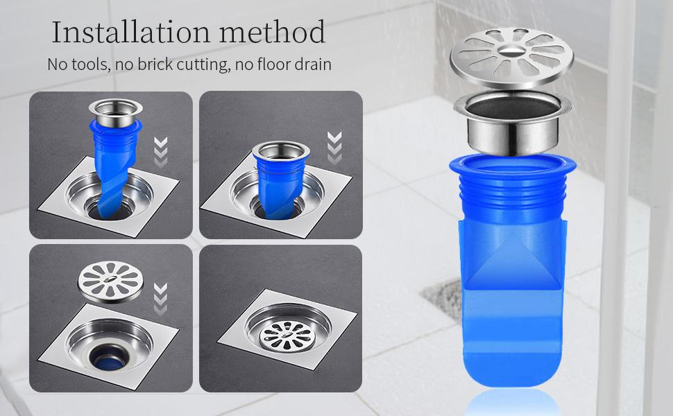 Floor drain core