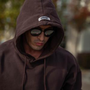 512 Young LA Hooded Sweat Shirt