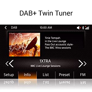 Xzent X-427: Multimediasystem mit DAB+ Tuner für klaren Digitalradio Empfang