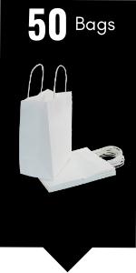PI11019 white paper gift bags