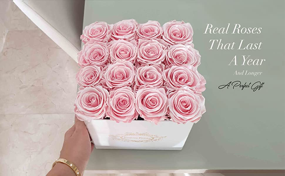 Eternal Petals, gifts for her, roses, eid gifts, luxury gifts, home decor, rose, rose prime deliver