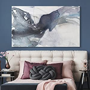 Bedroom Art, Abstract Art, Abstract, Blue Watercolor, Decorated Room