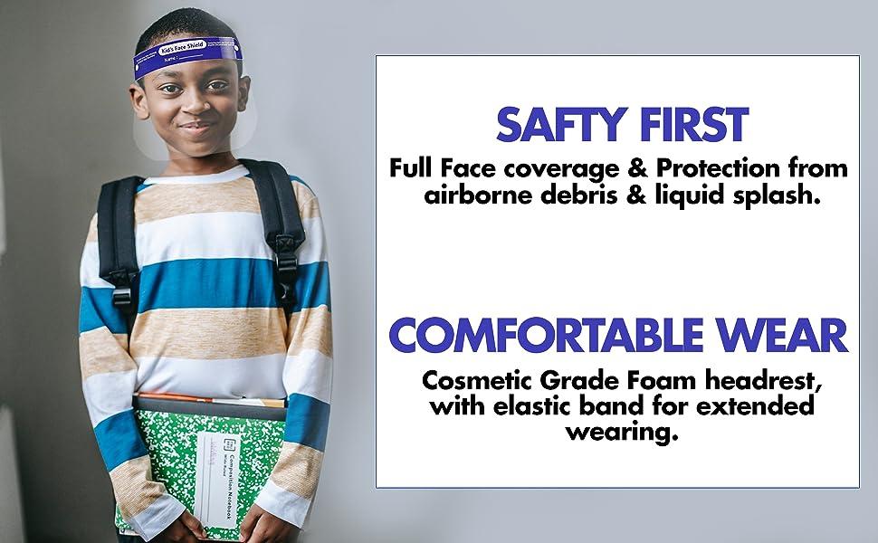 face shield for kids kids face masks