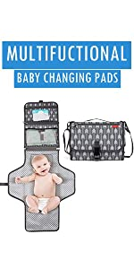 Multifunctional Baby Changing Pads