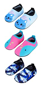 Baby Boys Girls Water Shoes Barefoot Aqua Sock Shoes for Beach Pool Surfing Yoga