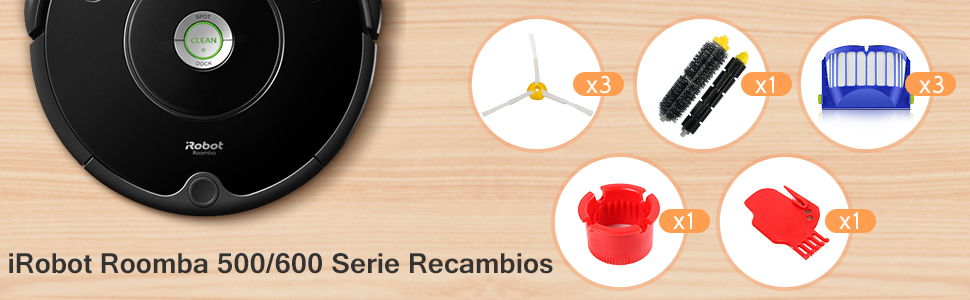 SAFETYON Accesorios de Irobot Roomba Recambios para IRobot ...