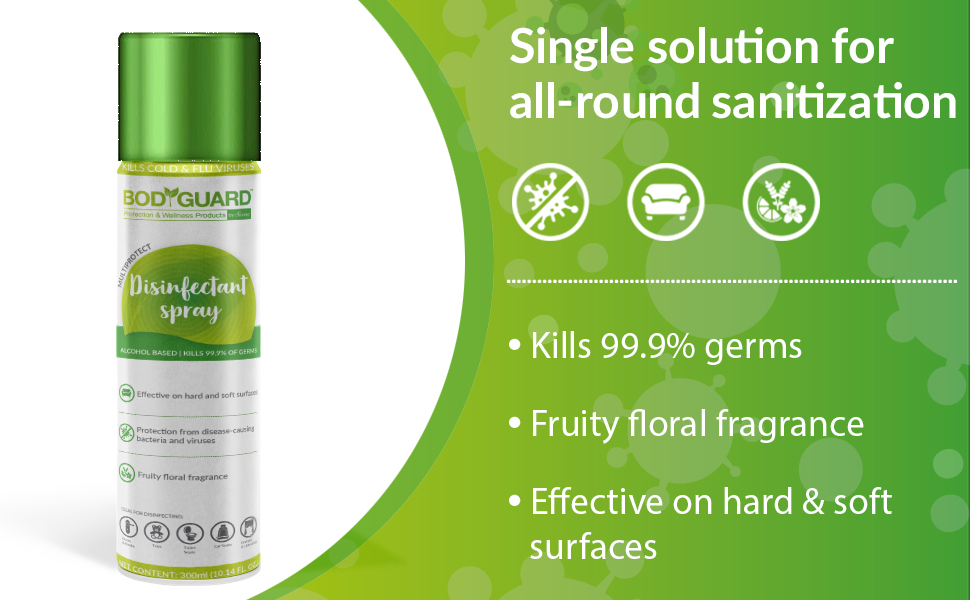 disinfectant spray