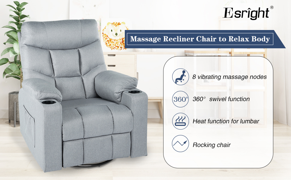 massage recliners on sale