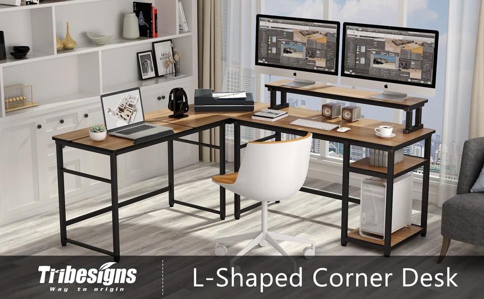 L Shpaed Computer Desk