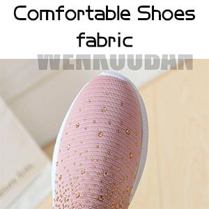 Slip On Breathe Mesh Walking Shoes Women Fashion Sneakers Comfort Wedge Platform Loafers