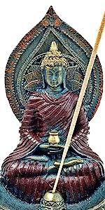 Buddha Statues Incense Stick Holder Incense Burner