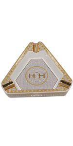 Hamp;H Insignia Cigar Ashtray