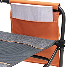 Sunnyfeel, Camping Chair, Oversized, Heavy Duty, Lightweight, Rocking Chair, Director Chair, Opener