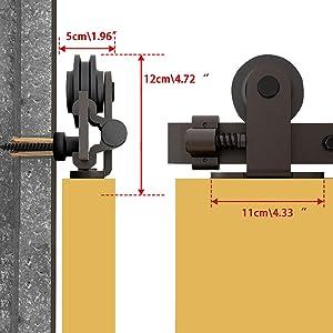 sliding barn doro hardware kit