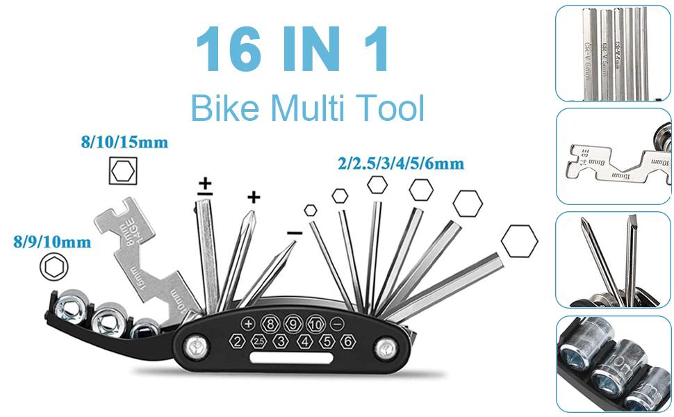 bike repair tool set