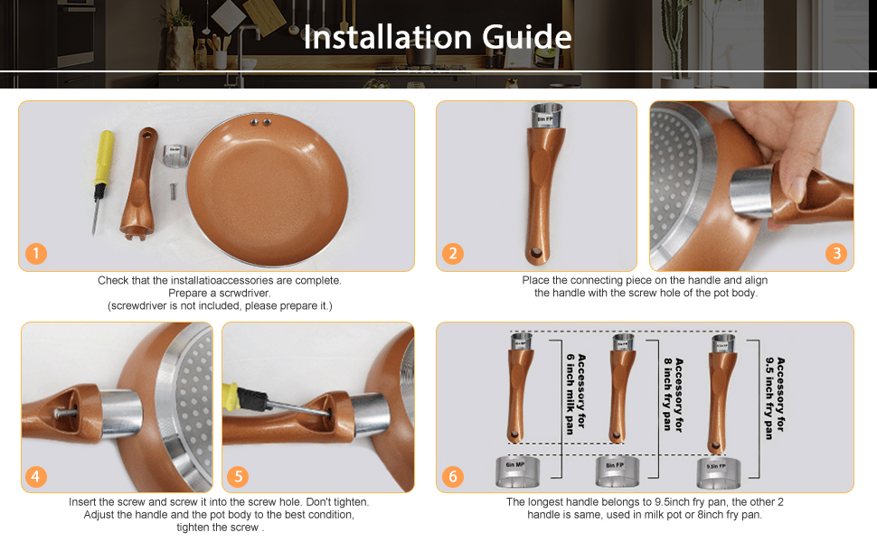 step to install