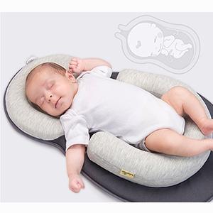 baby pillow newborn nest infant lounger pillow baby bed mattress snuggle pillow flat head pillow