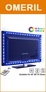 tira led TV