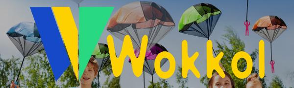 Wokkol Paraca/ídas para Ni/ños Mano Que Lanza Paracaidista Juegos de Vuelo al Aire Libre para Ni/ños 12 Piezas Mini Paraca/ídas con Soldados Set