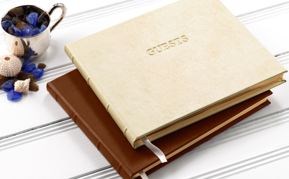 Gallery Leather Guest Books