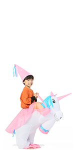 riding unicorn for kid
