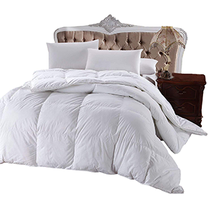 heavy down alternative comforter queen duvet size white blanket royal hotel cotton insert season