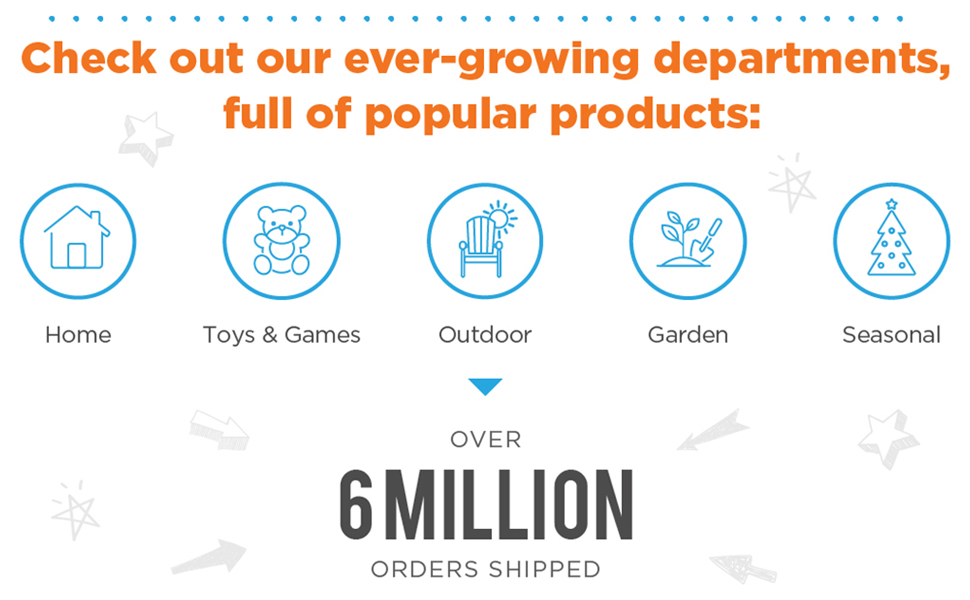 Over 6 Million orders filled