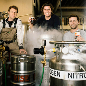 RISE Brewing Co co-founders