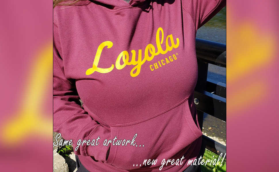 Same great artwork, new great material - hoodies from Nudge Printing