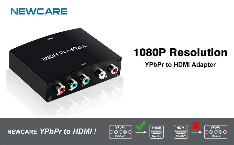 YPbPr to HDMI Converter(1080P)