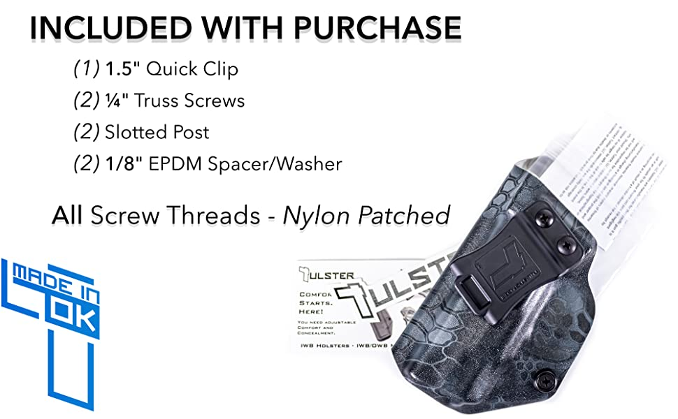 included with purchase made in ok