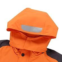 miiooper Mens Waterproof Outdoor Jacket 2020 Spring Windproof Hooded Mountain Fleece Outwear Rain Coat