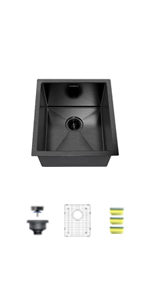 15 inch nano kitchen sink