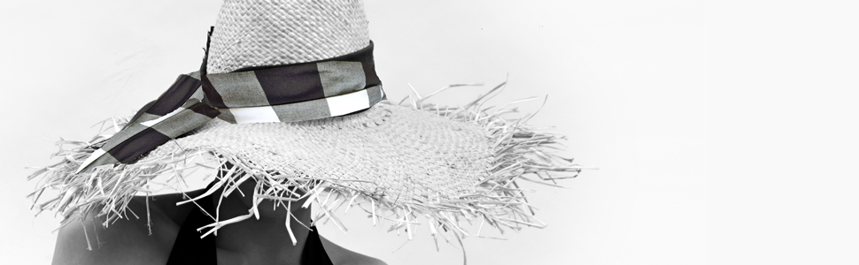 Gigi Burris Straw Hat Vogue Sustainable Summer Beach Frayed Raffia