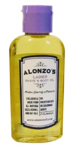 Alonzo's Ladies Shave & Body Oil