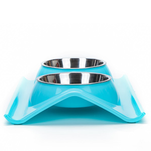 elevated metal dual puppy tilted double raised plastic stainless steel dog cat rabbit kitten feeding