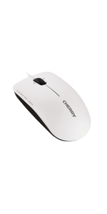 Cherry Jm 0800 0 Mouse Mc1000 Corded Grey Computers Accessories