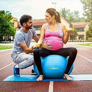 birthing balance ball