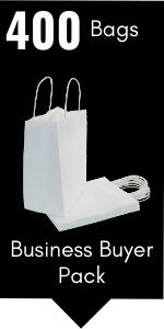 PI11022 white paper gift bags