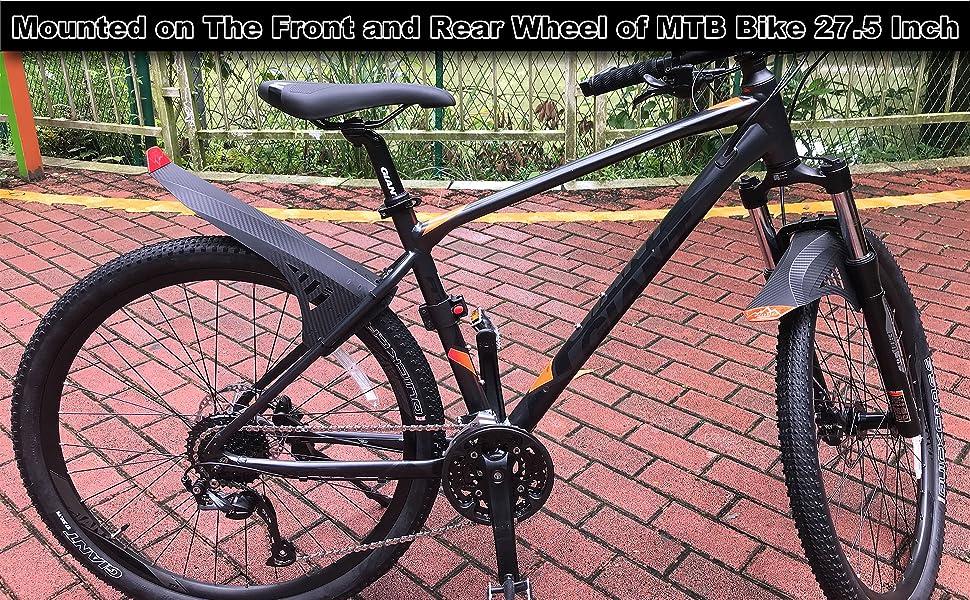 2PCS//set Mountain Bike Bicycle Cycling Road Tire Front Great Mudguard Z6C8