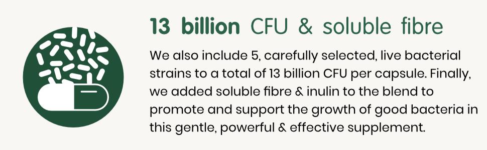 Together Multibiotic 13 billion CFU and soluble fibre